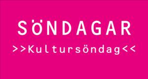 Söndagar på rosa stationen: Kultursöndagar varannan söndag.